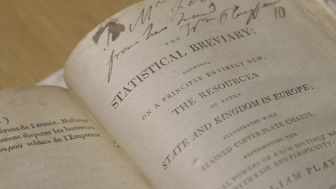 """Thumbnail for entry Title page of """"The Statistical Breviary"""" by William Playfair (1801)"""