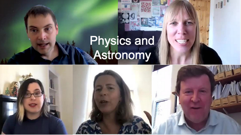 Thumbnail for entry Welcome Week:  School of Physics and Astronomy