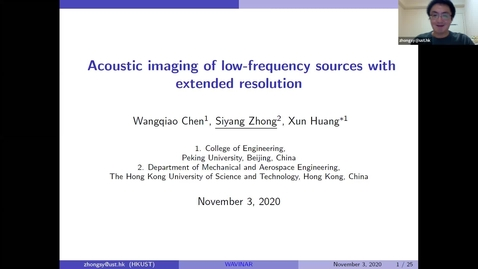 Thumbnail for entry Waves in Complex Continua (Wavinar) - Professor Siyang Zhong , (HKUST, China)