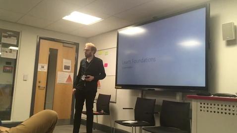 Thumbnail for entry Learn Foundations - UX Showcase lightning talk