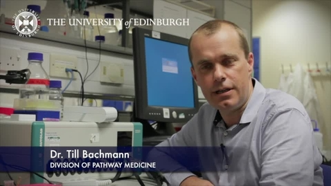 Thumbnail for entry Till Buchmann-Division of Pathway Medicine-Research In A Nutshell- Edinburgh Infectious Diseases-04/07/2012