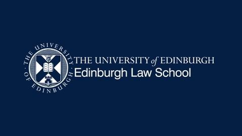 Thumbnail for entry MacCormick Conversations: Prof Martin Loughlin