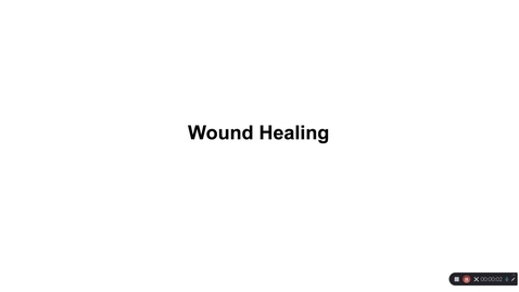 Thumbnail for entry Why Th2 2020 - section 2 - wound healing