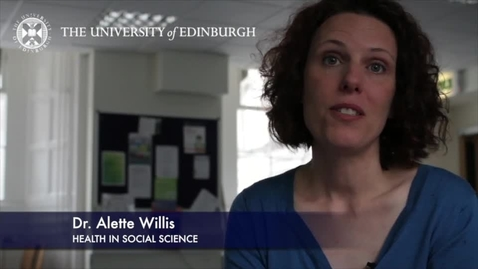 Thumbnail for entry Alett Willis-Health In Social Science - Research In A Nutshell- School of Health in Social Science-24/07/2012