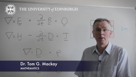 Thumbnail for entry Tom Mackay- Mathematics- Research In A Nutshell - School of Mathematics -13/02/2012