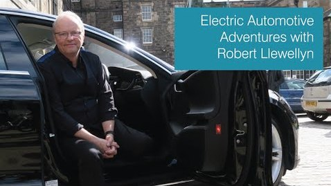 Thumbnail for entry Electric Automotive Adventures with Robert Llewellyn