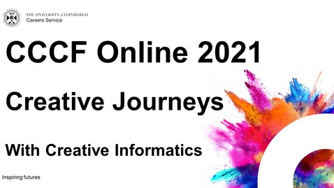 Thumbnail for entry Creative Journeys (CCCF Online 2021)