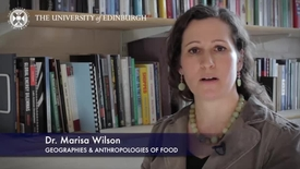 Thumbnail for entry Marisa Wilson - Geographies & Anthropologies of Food -Research In A Nutshell - School of GeoSciences -28/04/2014