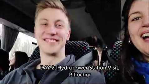 Thumbnail for entry Sustainable Energy Workshop & Pitlochry Hydropower Station Visit 2019