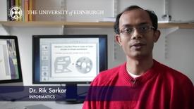 Thumbnail for entry Rik Sarkar - Informatics - Research In A Nutshell - School of Informatics -13/03/2013