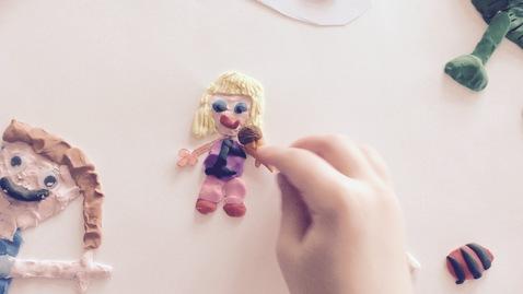 Thumbnail for entry Making 3D Plasticine Artwork