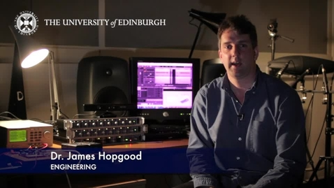 Thumbnail for entry James Hopgood: Acoustic Sensing