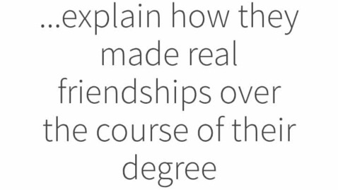 """Thumbnail for entry Myth Busting Online Learning : Myth #1 """"Online degrees are really lonely"""""""