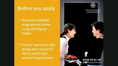 Thumbnail for entry How to make an effective postgraduate application