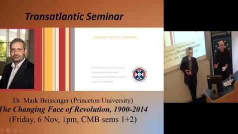 Thumbnail for entry Dr Neil Fligstein (University of California, Berkley)