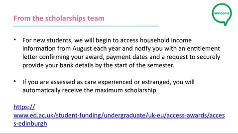 Thumbnail for entry How-to access support as a care experienced or estranged student