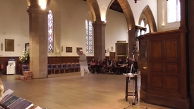 Thumbnail for entry Sufi inspired dance by Adam Ali Hussain at the University Multi-faith service 2014