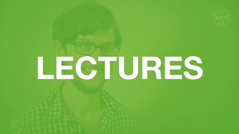 Thumbnail for entry Lectures