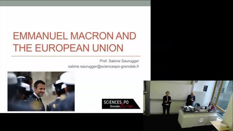 Thumbnail for entry 16 Nov 2018 — Sabine Saurugger (Sciences Po Grenoble)