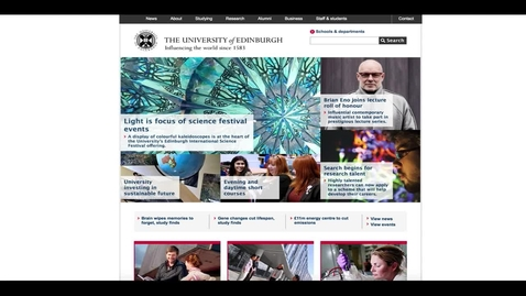 Thumbnail for entry EdWeb Collaboration Framework