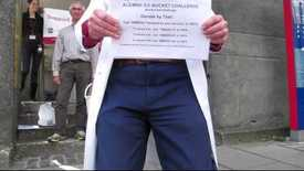 Thumbnail for entry Prof Richard Ribchester takes the Ice Bucket Challenge for ALS/MND Research
