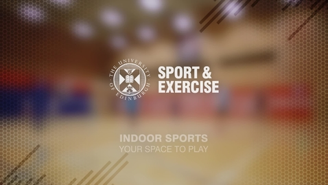 Thumbnail for entry Indoor Sports at the Pleasance