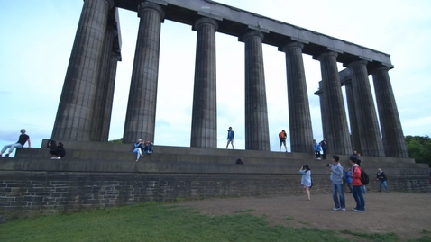Thumbnail for entry The National Monument on Calton Hill
