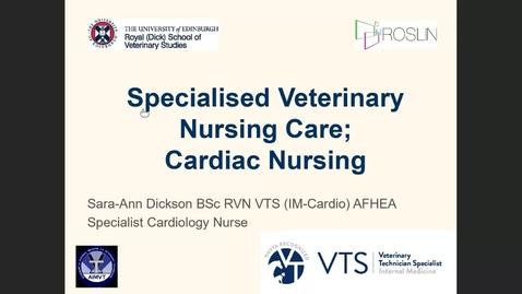 Thumbnail for entry Nurses Clinical Club - 28th July 2021 - Nursing the cardiac patient