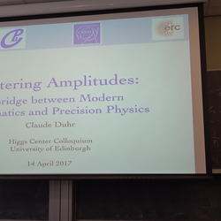 Thumbnail for channel Higgs Centre for Theoretical Physics