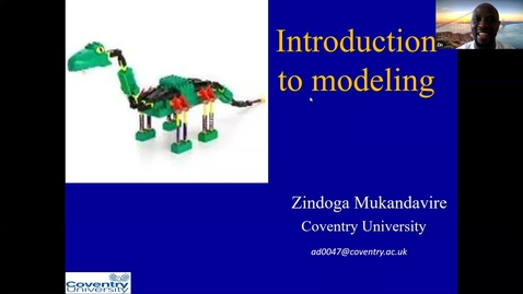 Thumbnail for entry UK-APASI in Mathematical Sciences: Zindoga Mukandavire (Lecture 5)