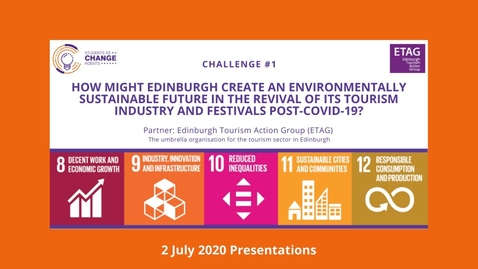 Thumbnail for entry Students as Change Agents Online - ETAG Final Presentations (2 July 2020)