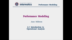 Thumbnail for entry 2.1 Introduction to Operational Analysis