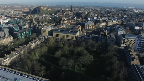 Thumbnail for entry George Square, the Old College and Edinburgh College of Art