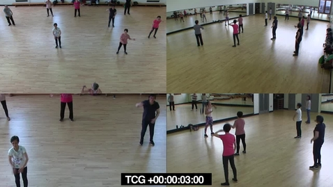 Thumbnail for entry Session2 - multicam dance
