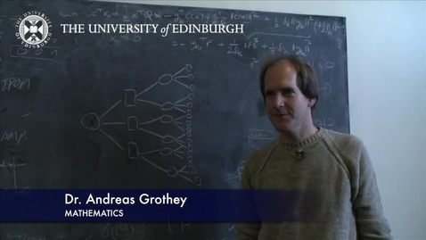 Thumbnail for entry Andreas Grothey -  Mathematics- Research In A Nutshell -  School of Mathematics -25/01/2012