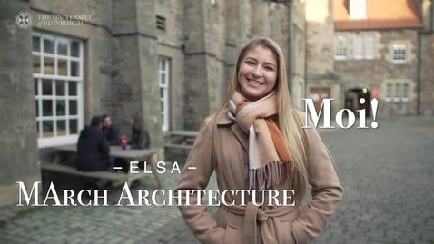 Thumbnail for entry University of Edinburgh: Meet our postgraduate students - Elsa