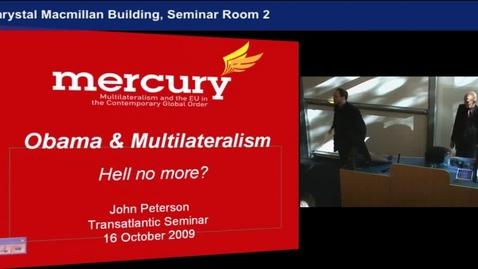 Thumbnail for entry Professor John Peterson (University of Edinburgh)