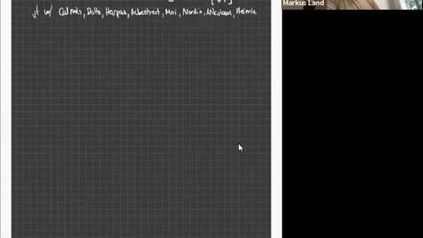 Thumbnail for entry The Shaneson-Ranicki splitting is a Bass-Heller-Swan type splitting for Poincare categories - Markus Land