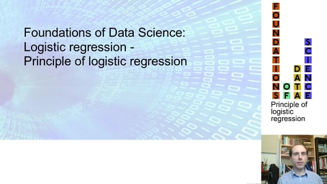 Thumbnail for entry FDS-S2-02-2-1 Principle of logistic regression