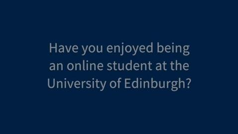 Thumbnail for entry Student Testimonial | MSc Equine Science | The University of Edinburgh