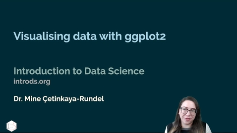 Thumbnail for entry IDS - Week 02 - 03 - Visualising data with ggplot2