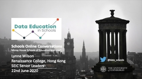 Thumbnail for entry Moray House Online Conversations - Lynne Wilson, Hong Kong