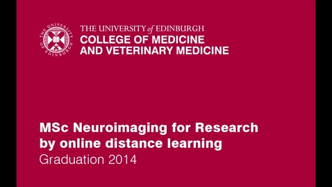 Thumbnail for entry Maria, Neuroimaging for research online student