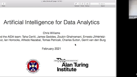 Thumbnail for entry Artificial Intelligence for Data Analytics