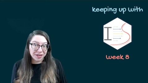 Thumbnail for entry IDS - Week 08 - 01 - Keeping up with IDS