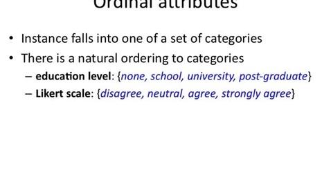 Thumbnail for entry Ordinal Attributes