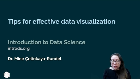 Thumbnail for entry IDS - Week 05 - 02 - Tips for effective data visualisation