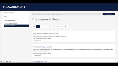 Thumbnail for entry UWP Tech Team Development Work