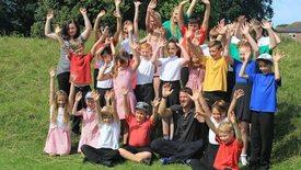 Thumbnail for entry Digimap for Schools Wildlife Map Competition winners Mengham Junior School meet Steve Backshall