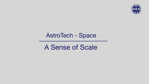 Thumbnail for entry AstroTech - Space - A sense of scale